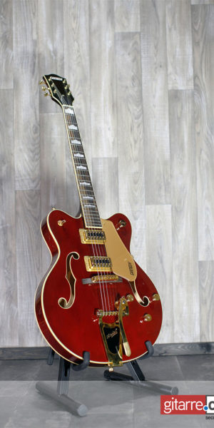 Gretsch_Electromatic_G5422TG_Semiaccoustic_Red_front