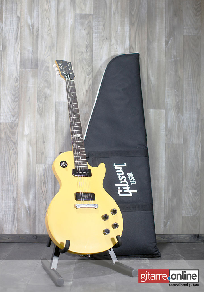 Gibson_Les_Paul_Melody_Maker_Anniversary_Edition_Yellow_front