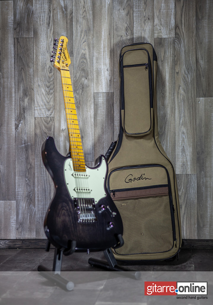Godin_Session_Stratocaster_front_with_bag