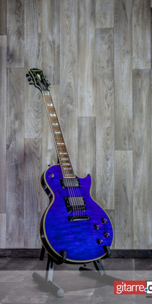 Epiphone Les Paul Custom Prophecy Plus EX Midnight Saphire