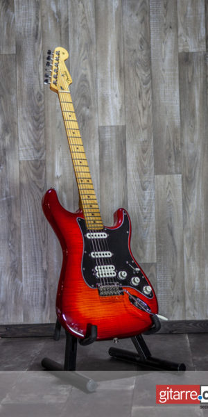 FENDER Player Series Stratocaster HSS Plus Top MN Aged Cherry Burst