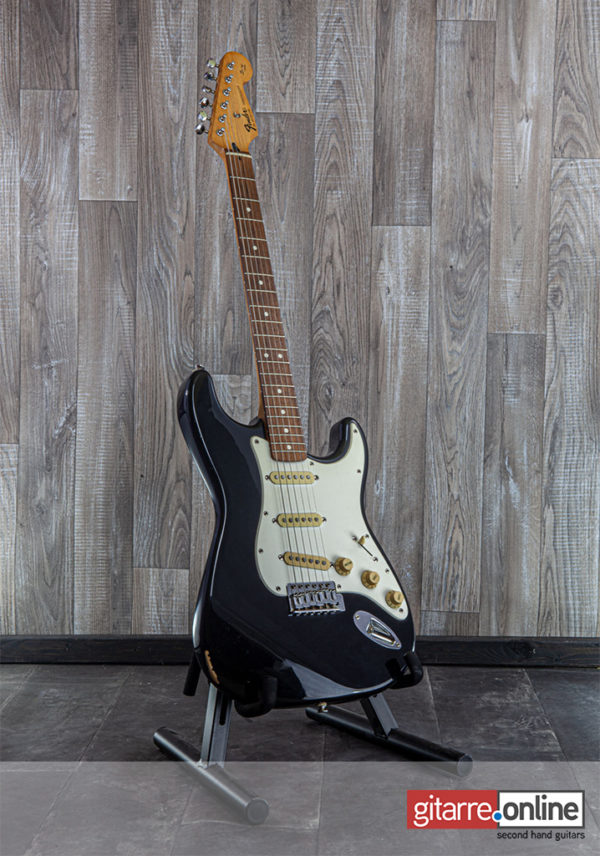 Fender Stratocaster Mexico Squier Series Black 1995