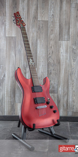 Schecter C1 Lady Luck Racing Red